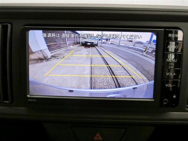 【バックモニター】普段の駐車はもちろん車輪止めのない駐車場や後ろギリギリに駐車しないといけない時の障害物の確認などには特に役立ちますよ!
