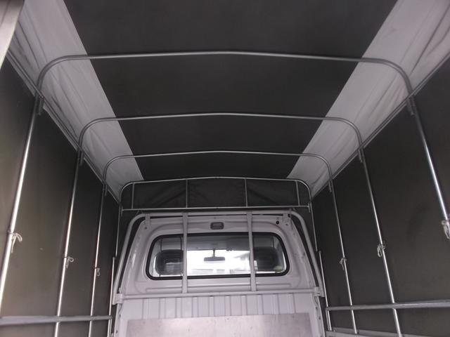 スバル サンバートラック TB 幌 パワステ キーレス