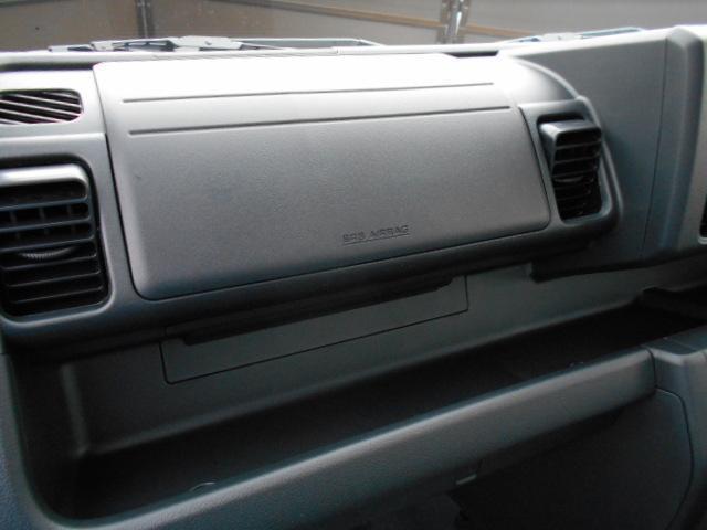 運転席だけでなく、助手席側にもエアバック搭載してます。