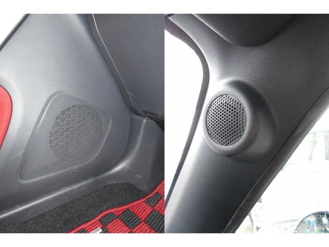 16cmスピーカーとピラーにはツィーターが装備されております。
