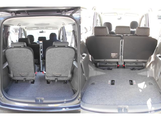 サードシートを使わないときはセカンドシート下に収納すれば広いカーゴスペースになります。