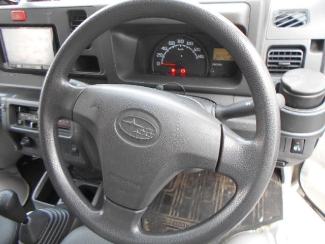 運転席にはエアバックが装備されております。もしもの時に、乗員を守ります。ABS装備してます。