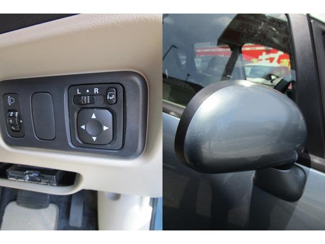 駐車時に便利な電動格納ドアミラー。