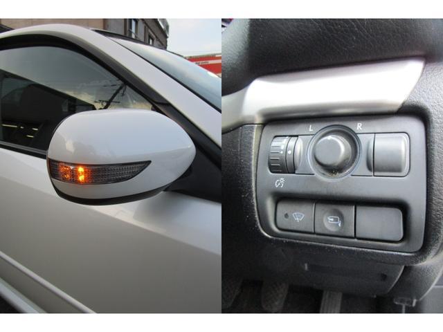 対向車からの視認性が良きLEDターンランプ付き電動格納ドアミラーです。