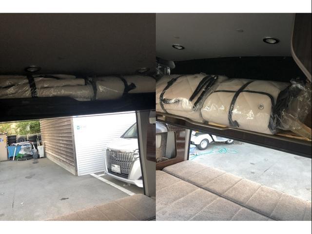 GX アネックス リコルソSS 車中泊仕様 ワンオーナー ベットキット 脱着テーブル 4人乗り サブバッテリー ベバストヒーター インバーター 外部電源充電コード 天井収納 取説 保証書(16枚目)