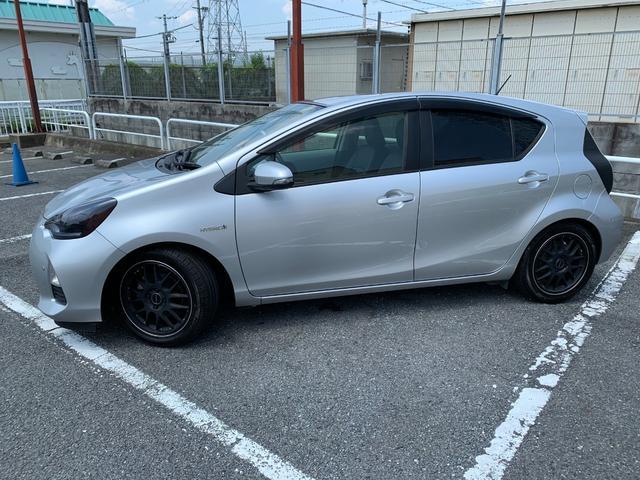 トヨタ アクア S SDワンセグナビ Bluetooth
