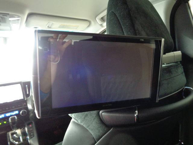お好きなTV,DVDが観れるので渋滞中も退屈せずにすみますよ♪♪