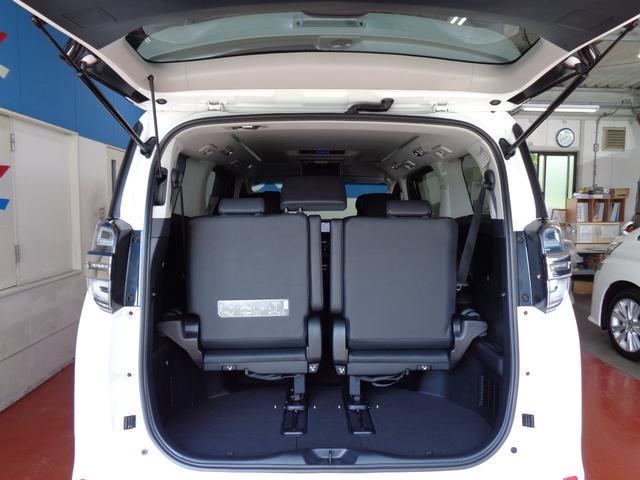 2.5Z Gエディション スマートキー 両側電動スライドドア ドライブレコーダー 横滑り防止装置 衝突被害軽減ブレーキ バックカメラ フルエアロ 盗難防止装置 障害物センサー フルセグSD ワンオーナー ETC 後席モニター(9枚目)