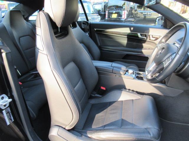 E250クーペAMGスポーツP レザーシート 保証付(13枚目)