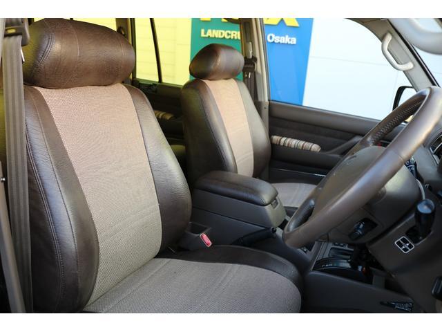トヨタ ランドクルーザー80 VXリミテッド 60フェイス換装 レザートップ 内張張替え