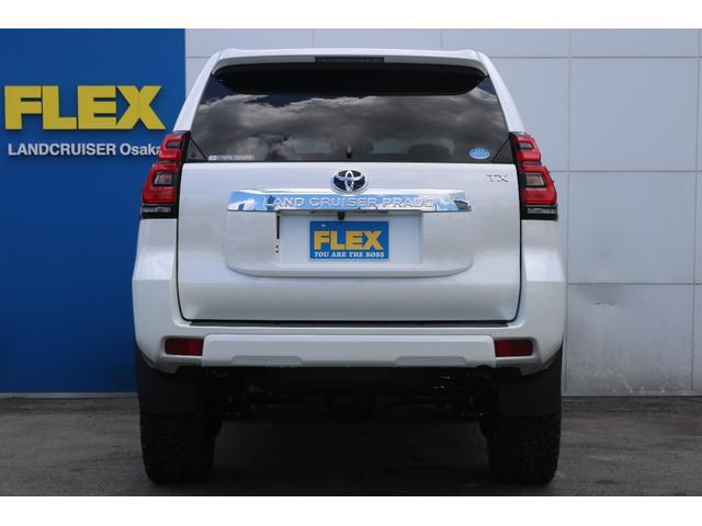 トヨタ ランドクルーザープラド TX 新車未登録車 ガソリン 5人乗り リフトアップ