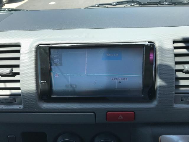 トヨタ ハイエースバン DX ナビ ETC ミニバン 6名乗り エアコン
