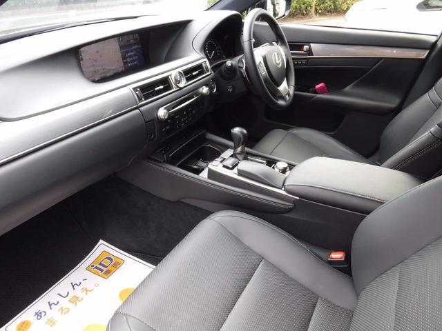 レクサス GS GS350 Fスポーツ ボンネット特殊ペイント黒革シート