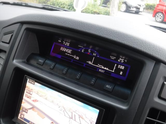 ロング エクシードX4WD社外ナビETCシートヒーター(17枚目)