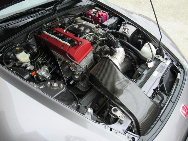 AP2 ベースグレード  F22C-VTEC ムーンロックM 純正17インチアルミ 社外スポイラー 純正HIDヘッドライト カロッツェリアメモリーナビ フルセグTV ドライブレコーダー ミツビシETC エンジンプッシュスタート 純正革巻きステアリング USB(23枚目)