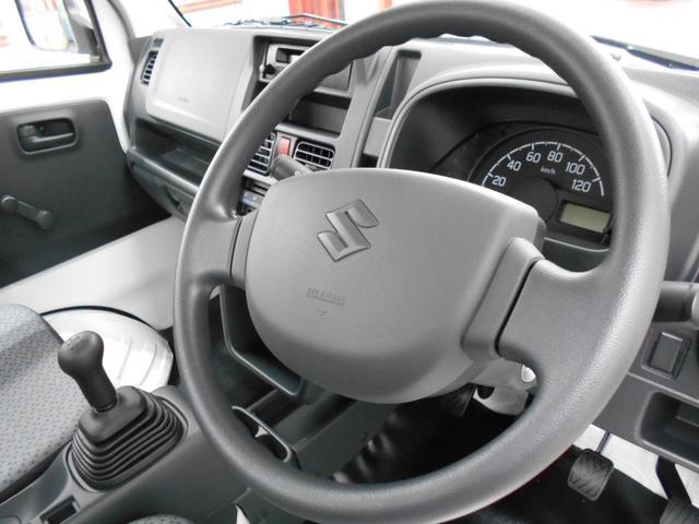 スズキ キャリイトラック KCエアコン・パワステ 未使用車 4WD 5速MT ABS