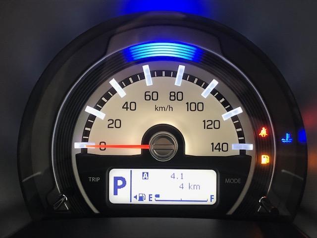 一目で速度が確認できる1眼タイプのメーターです♪燃費状態も確認できるデジタル液晶を装備しています♪