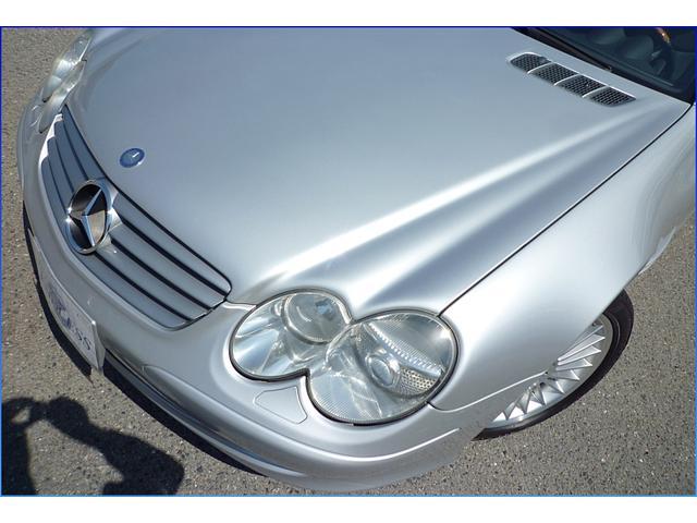 メルセデス・ベンツ M・ベンツ SL500本革シート 左ハンドル ディーラー車 電動オープン