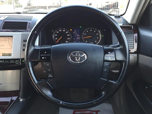 トヨタ マークX 250G Sパッケージ 純正DVDナビ バックカメラ