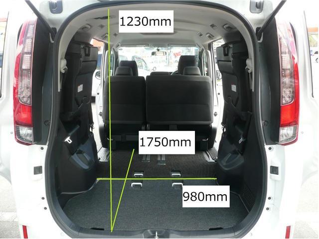 それぞれ狭いところでの大まかな寸法を記載しましたので、ご参考になさってください。