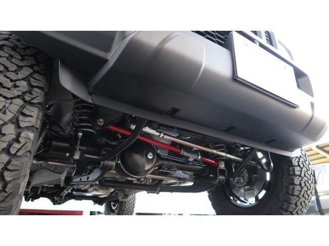 3インチUP BKスタイル MTタイヤ ブラックホイール(15枚目)