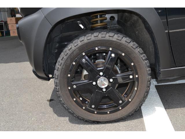 MK56オリジナルブラックホイール15インチ&MTタイヤ