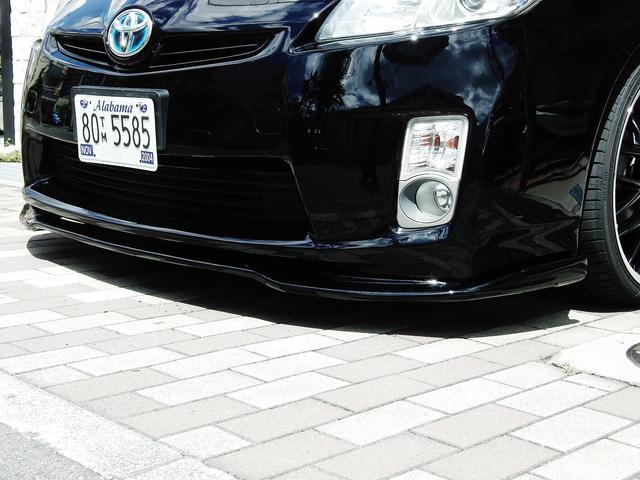 トヨタ プリウス S 1年保証 HDDナビ Bカメラ 新品19インチアルミ