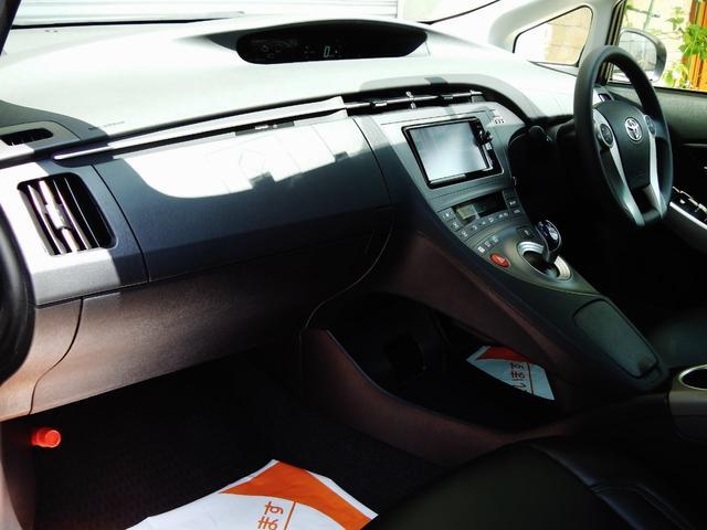 トヨタ プリウス S SDメモリーナビ ETC メッシュ19インチAW ETC