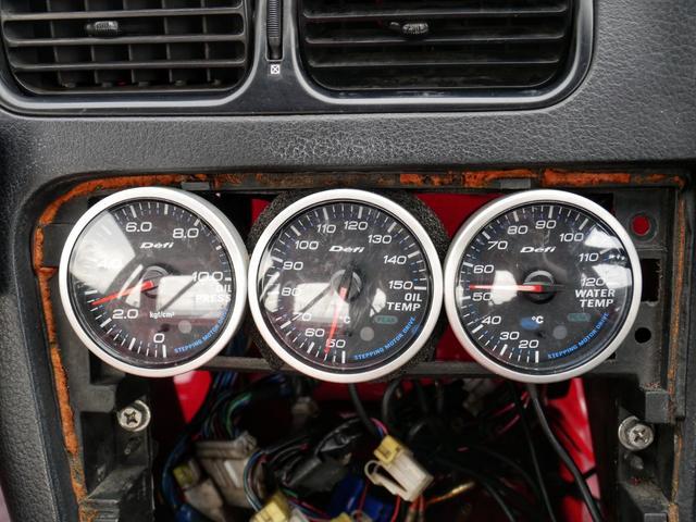 60パイデフィメーター☆正確にお車の情報をドライバーに伝えてくれます☆左から油圧計、油温計、水温計になります☆