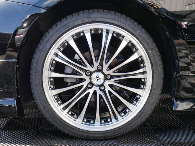 新品「BAV」18インチタイヤホイール☆カラーリングは、ブラック×ポリッシュになります☆リム有りのデザインで足元が引き締まってます☆