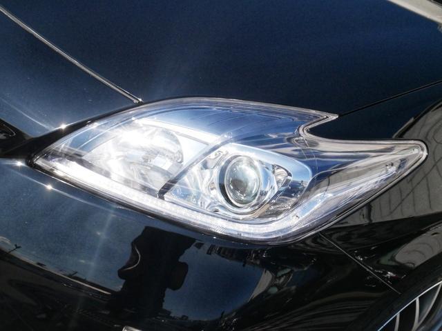 現在は純正ヘッドライトですが、オプションで当店オリジナルのLEDイカリングインナーブラックヘッドライトもお取り付け出来ます☆もちろん車検対応品で、高輝度LEDイカリングですので、存在感ありますよ☆