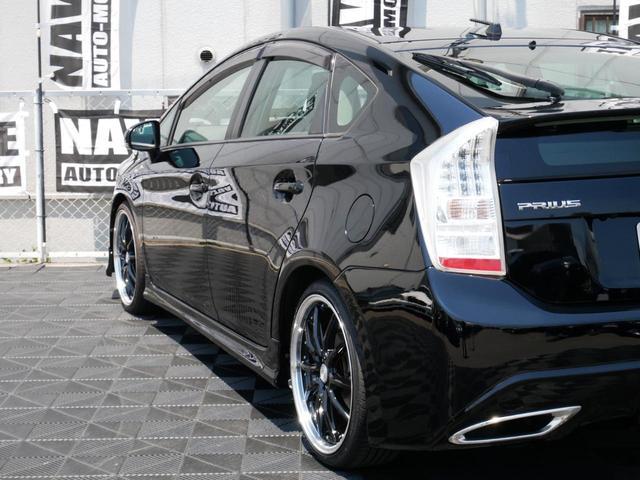 S 2年保証 新作新品CGブラック19インチAW 新品タイヤ ローダウン レクサスTF埋込オリジナルリアバンパー 地デジナビ バックカメラ 新品シートカバー フルエアロ フルカスタム コンプリートカー(30枚目)