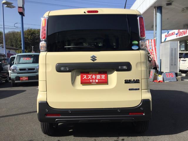 「スズキ」「スペーシアギア」「コンパクトカー」「和歌山県」の中古車4