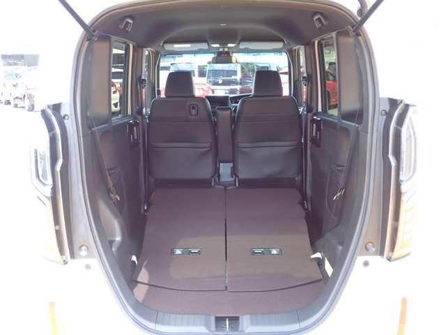 G・Lターボホンダセンシング オーディオレス 両側パワースライドドア キーフリー ESC LEDヘッド ターボ車 バックカメ クルコン ETC スマートキー アルミ ベンチシート アイドリングストップ 盗難防止装置 ABS(15枚目)