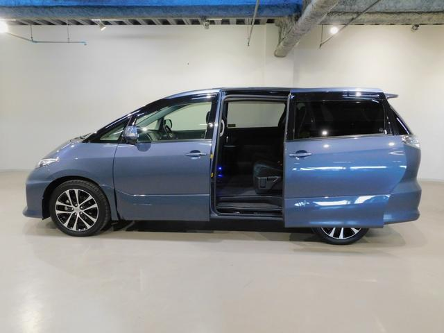乗り降り楽々!自動スライドドアで運転席の操作でオートスライドドアが開閉します!とっても便利な機能です!お子様、ご年配の方にも安心です!ご家族、同乗者に優しい装備です♪