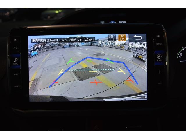 マルチビューバックモニター付きです!バック、パノラマ、トップ、コーナーを切り替えて表示できます♪車両後方の見えないところも確認できます♪ハンドル切れ角対応のガイドラインも表示されますよ^^