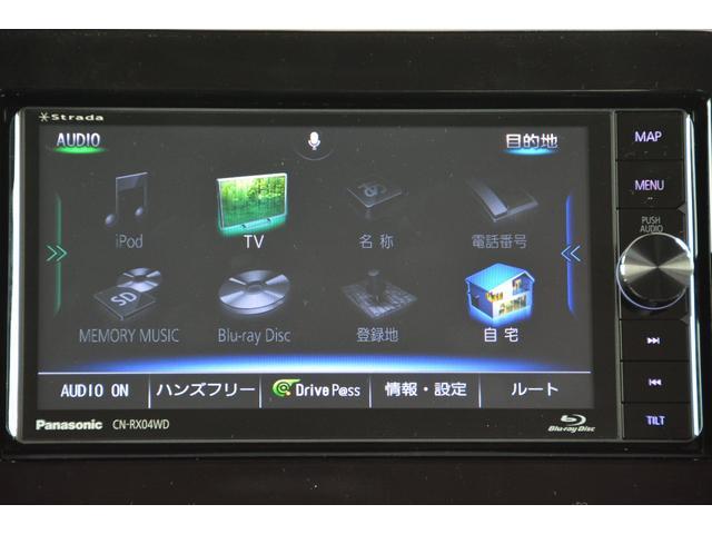 X 4WD 3AT ブルーレイ搭載フルセグナビETCマット付(5枚目)