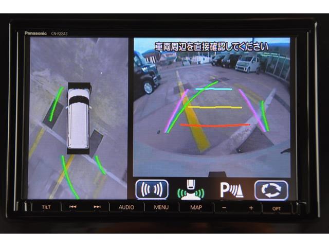 ハイブリッドXS 全方位モニター8型大画面ナビETCマット付(6枚目)
