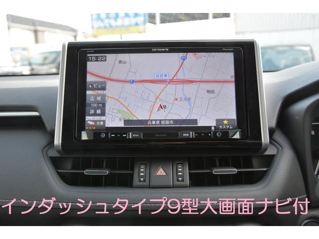 G 9インチ大画面フルセグナビバックカメラETCマット付(4枚目)