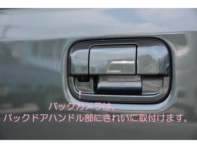 バックカメラはバックドアハンドル部に目立たずすっきり取付いたします♪お問い合わせは079-280-1118、カーズカフェ カーベル姫路東までお気軽に^^