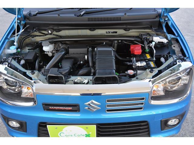 新設計の吸排気システムやエキゾーストマニホールド一体型シリンダーヘッドの採用により軽量化を実現したR06A型ツインカムターボエンジンをベースに、WORKS専用チューニングを施した。