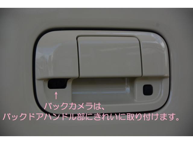 バックカメラはバックドアハンドルに目立たずすっきり取付いたします♪お問い合わせは079-280-1118、カーズカフェ カーベル姫路東までお気軽に^^