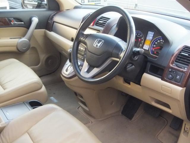 ホンダ CR-V ZX 4WD1オーナーサンルーフ本革シートHDDナビBカメラ