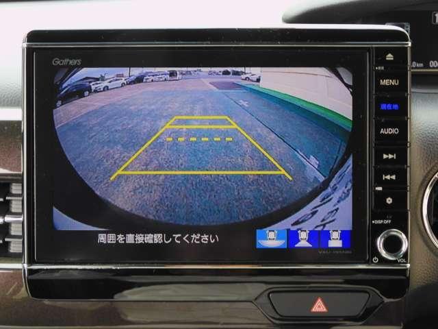 G・Lホンダセンシング ナビ リアカメラ 当社デモカーアップ(4枚目)