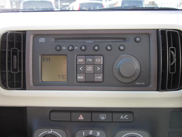 トヨタ パッソ X 社外AW キーレス CD