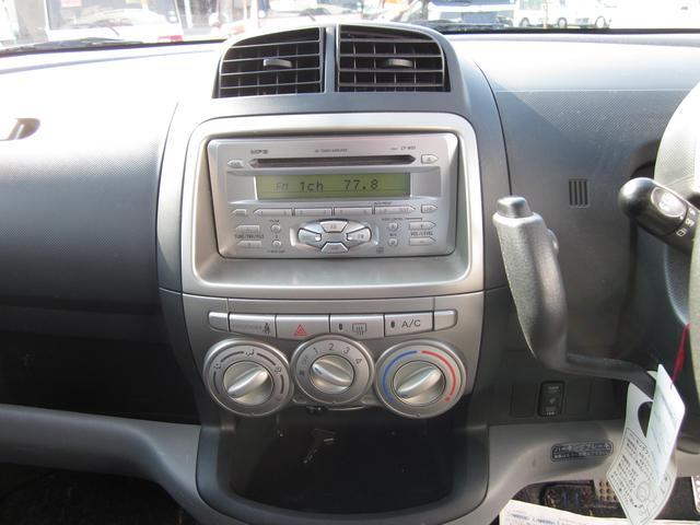 トヨタ パッソ X キーレス CD