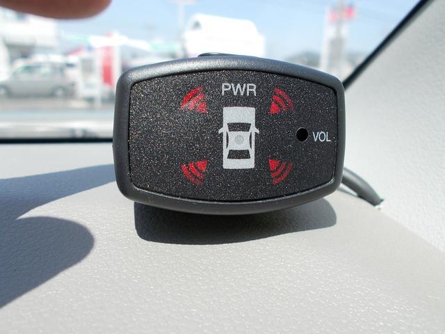 障害物を音と表示でお知らせしてくれる コーナーセンサーが付いて安心です♪