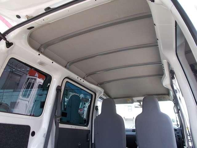 ハイルーフなので高さのある荷物も積込み可能です!