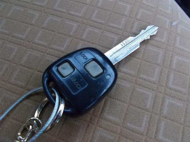 鍵の開閉がラクラクのキーレスシステムです♪