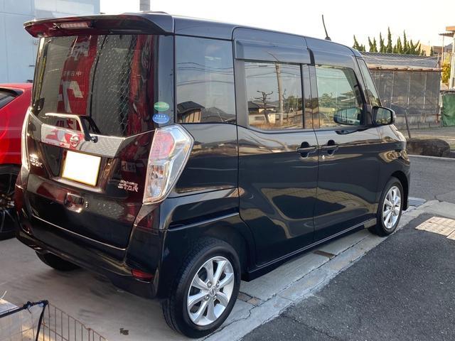 ハイウェイスター Xターボ レザーシートカバー 新車保証継承 1オーナー 禁煙車 ナビ・ルームミラー360°カメラ表示 左電動スライドドア ドラレコ Bluetooth テレビ CD ETC ブレーキサポート 14インチアルミ(48枚目)